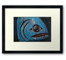 Totem Pole Fish Framed Print