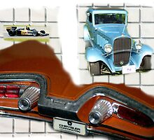 Collage of Cars... by Larry Llewellyn