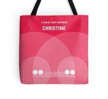 No016 My Christine minimal movie poster Tote Bag