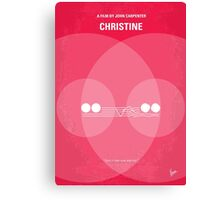 No016 My Christine minimal movie poster Canvas Print