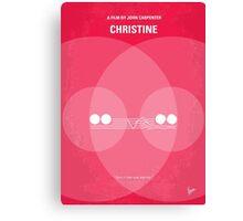 No016 My Christine minimal movie poster Canvas Print