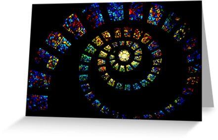 Spiritual Spiral by Inge Johnsson