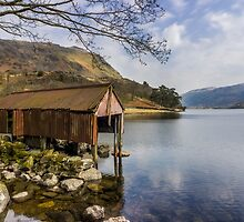 The Old Boathouse by Ian Mitchell