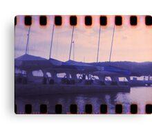 Blue Sunset on Brisbane Water Canvas Print