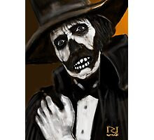 DR DEATH ! Photographic Print