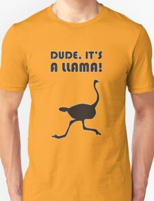 Dude, Its a Llama! T-Shirt