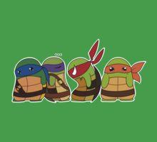 Jellybean Turtles by cartoonartist