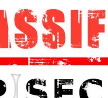 Classified Top Secret Sticker