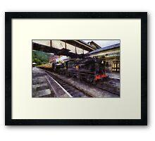 Steam Train Ride Framed Print
