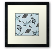 Blue Prairie Framed Print