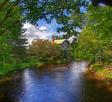 Old Mill Stream by ECH52