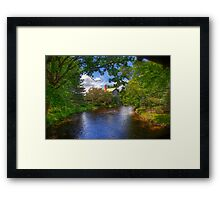 Old Mill Stream Framed Print