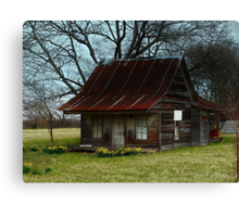 Dollhouse Cabin Canvas Print