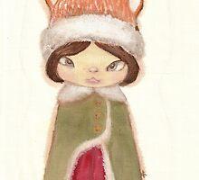 Little red fox  by fluffymafi