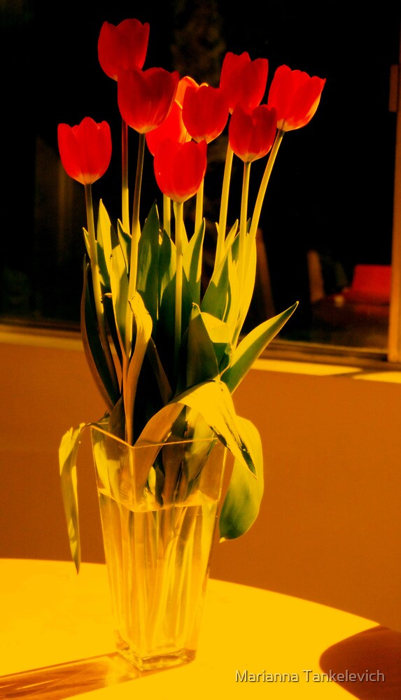 tulips by Marianna Tankelevich