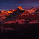 Clark range at sunset by shoenberg3