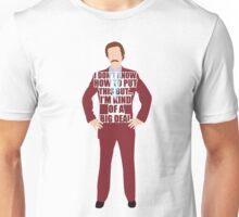 Ron Burgandy Unisex T-Shirt