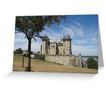 Château de Saumur Greeting Card