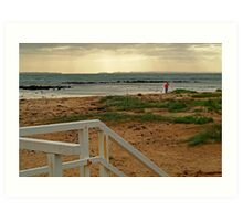 View from Barwon Heads to the Rip Art Print
