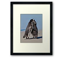 Pingo Hugs Framed Print
