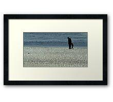 Exploring Low Tide Framed Print