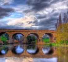 Richmond Bridge - Tasmania by Adam Gormley