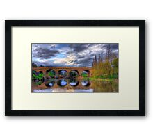 Richmond Bridge - Tasmania Framed Print