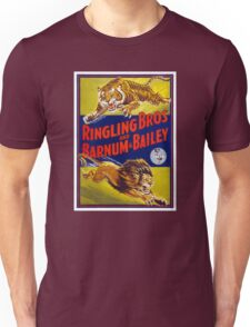 Ringling Brothers & Barnum & Bailey Vintage Poster Unisex T-Shirt