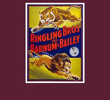 Ringling Brothers & Barnum & Bailey Vintage Poster Womens Fitted T-Shirt