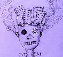 City Head by Thea T