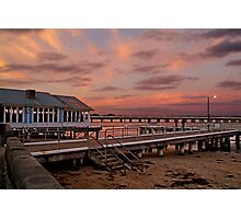 Sunset, Barwon Heads Photographic Print