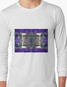 Forest totem pole Long Sleeve T-Shirt