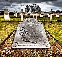 Villers Bretonneux  -  Crucifix corner by Gavin Poh