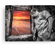 Seaside HDR Views Canvas Print