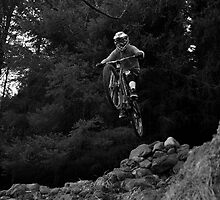 Downhill Mountain Biking by Cameron Prentice