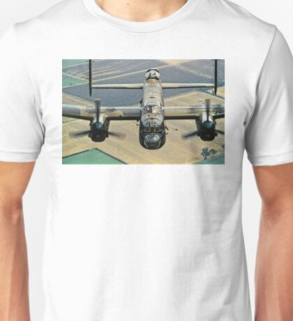 Lancaster B.1 up close and personal Unisex T-Shirt