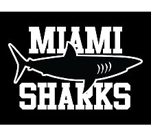 Miami Sharks shirt (Any Given Sunday, Willie Beamen) Photographic Print