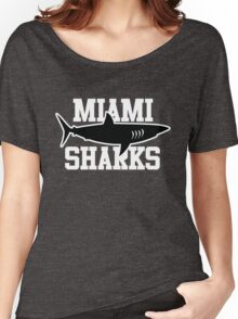 Miami Sharks shirt (Any Given Sunday, Willie Beamen) Women's Relaxed Fit T-Shirt
