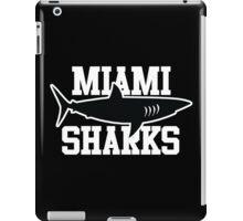Miami Sharks shirt (Any Given Sunday, Willie Beamen) iPad Case/Skin