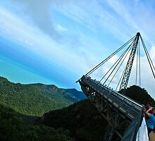 Acrophobia - Lankawi Sky Bridge by Tashique Alam