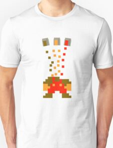 Pixel Drop Mario T-Shirt