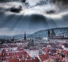 Let it shine - Prague City scape by Gavin Poh