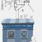 Edinburgh Tardis by Richard Butler