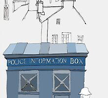 Edinburgh Tardis by Richard Butler
