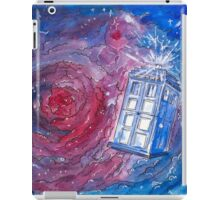 TARDIS in watercolour 01 iPad Case/Skin