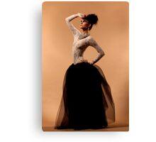 Tough Ballet Canvas Print