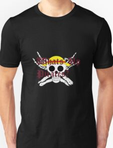 One Piece Straw Hat Whats Up Pirates Luffy Unisex T-Shirt