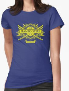 Hanzo Steel Womens Fitted T-Shirt