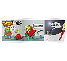 Kid Monsta Triptych 3 Poster
