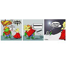 Kid Monsta Triptych 3 Photographic Print